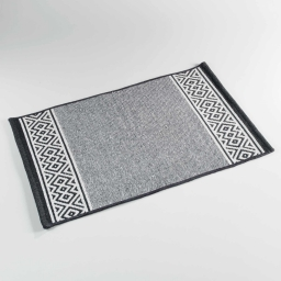 tapis rectangle 50 x 80 cm coton jacquard lulaca
