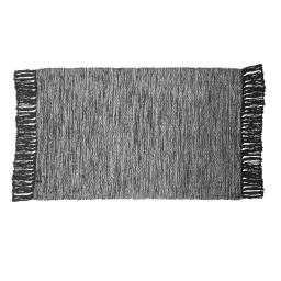 Tapis rectangle 50 x 80 cm coton jacquard pitcho Gris