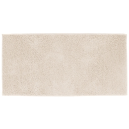 Tapis rectangle 57 x 115 cm tisse uni twist Naturel