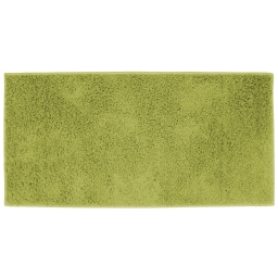 Tapis rectangle 57 x 115 cm tisse uni twist Vert