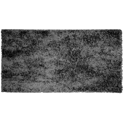 Tapis rectangle 60 x 115 cm tisse uni palace Anthracite