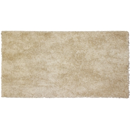 Tapis rectangle 60 x 115 cm tisse uni palace Beige