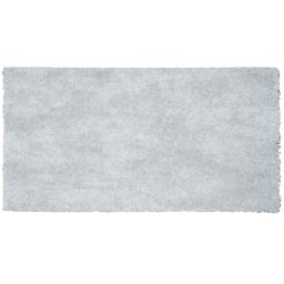 Tapis rectangle 60 x 115 cm tisse uni palace Gris