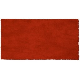 Tapis rectangle 60 x 115 cm tisse uni palace Rouge