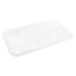 Tapis salle de bain mellow 50*80cm vitamine Blanc