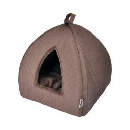 tente pour chat newton 35*35*38cm chocolat