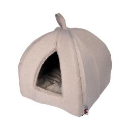 tente pour chat newton 35*35*38cm ecru