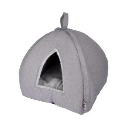 tente pour chat newton 35*35*38cm gris clair