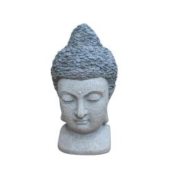 tete bouddha chip stone 40cm