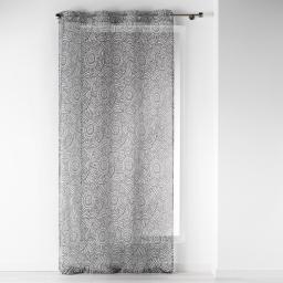 Voilage à oeillets 140 x 240 cm voile imprimé transfert dalamo