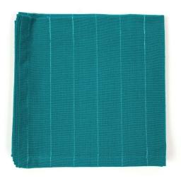 3 serviettes de table 40 x 40 cm coton tisse lulu word Canard