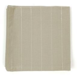 3 serviettes de table 40 x 40 cm coton tisse lulu word Lin