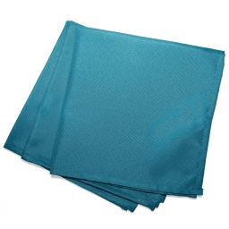 3 serviettes de table 40 x 40 cm polyester uni essentiel Bleu