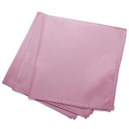 3 serviettes de table 40 x 40 cm polyester uni essentiel Dragee