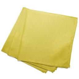 3 serviettes de table 40 x 40 cm polyester uni essentiel Tilleul