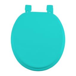 abattant wc mdf charnieres plastique vitamine vert menthe