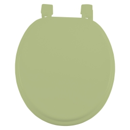 Abattant wc mdf charnieres plastique vitamine Wasabi