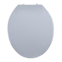 abattant wc plastique vitamine gris clair
