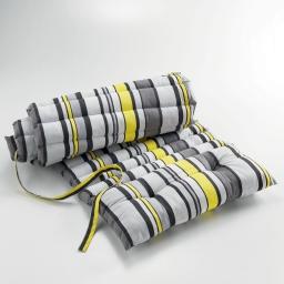Bain de soleil 60 x 180 cm coton imprime marina Jaune