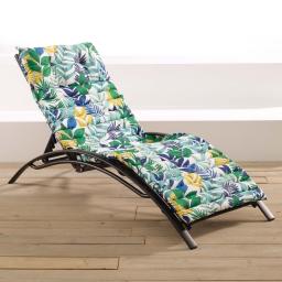 bain de soleil 60 x 180 cm coton imprime palma