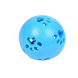 balle a grelot pour chat en tpr ø7.3cm coloris bleu