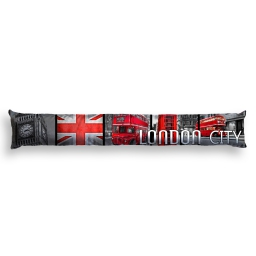 bas de porte 85 x 15 cm polyester imprime red london