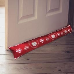 bas de porte 85 x 15 cm polyester imprime red love
