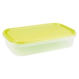 boite rect avec couvercle 2l - 29*19*h6cm - vert
