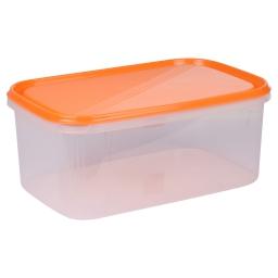 boite rectangle 4.4l avec couvercle - 29*19*h12cm - mangue