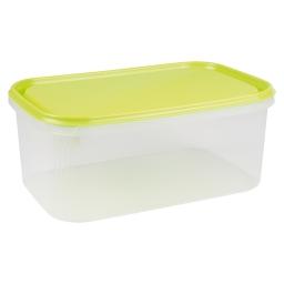 boite rectangle 4.4l avec couvercle - 29*19*h12cm - vert