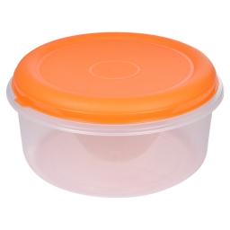 boite ronde 7l avec couvercle - ø29*h14.5cm - mangue
