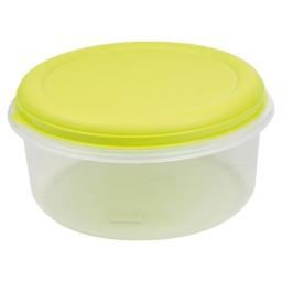 boite ronde 7l avec couvercle - ø29*h14.5cm - vert