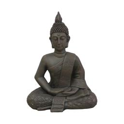 bouddha magnesie 47*30*h60cm chocolat