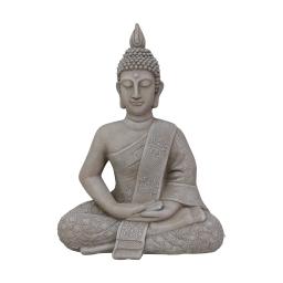 bouddha magnesie 47*30*h60cm creme