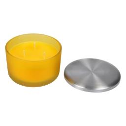 bougie verrine ø13*h8.5cm tropical parfum ananas des iles