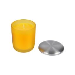 bougie verrine ø8*h9.5cm tropical parfum ananas des iles