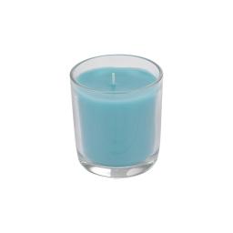 bougie verrine ø8*h9.5cm tropical parfum pluie d'été
