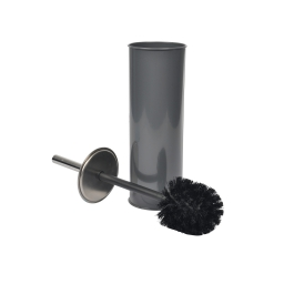 Brosse wc (0) 9.5 x 37 cm metal vitamine Anthracite
