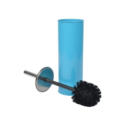 Brosse wc (0) 9.5 x 37 cm metal vitamine Bleu ocean