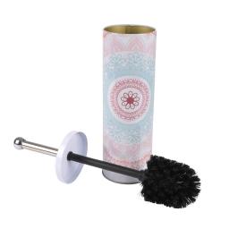 brosse wc metal imprimee mandala