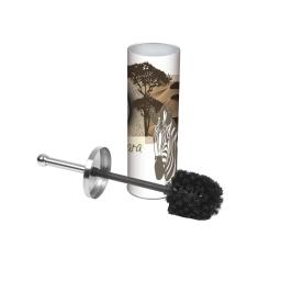 brosse wc metal zebre
