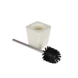 Brosse wc plastique effet soft touch vitamine Naturel