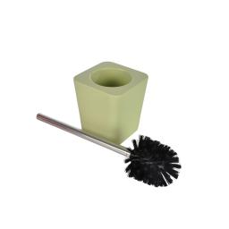 Brosse wc plastique effet soft touch vitamine Wasabi