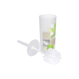 brosse wc plastique imprimé vegetal