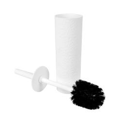 brosse wc plastique martelé urban blanc