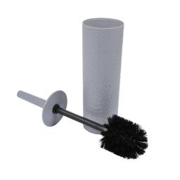 brosse wc plastique martelé urban gris clair