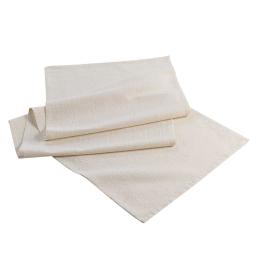 Chemin de table 40 x 140 cm coton uni+lurex elegancia Or