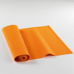 Chemin de table 40x140 coton uni tomato Orange