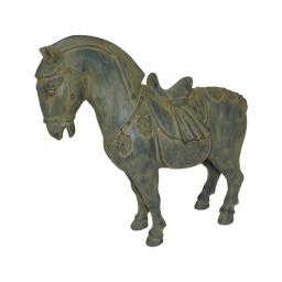 cheval polyresine 31*12*h28.5cm