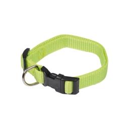 collier reglable en pp de 30 a 45cm*largeur 16mm - vert anis